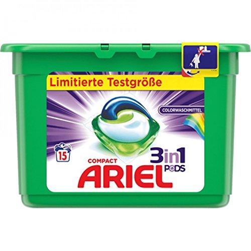 Ariel 3in1 Pods Colorwaschmittel -15 Waschladungen