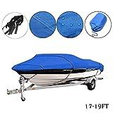 Maso Housse de protection imperméable et protection UV pour bateau remorque 210D
