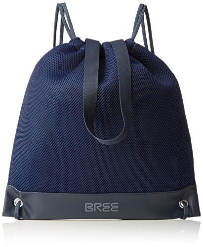 BREE Damen Punch Air 1 Bowlingtaschen, Mehrfarbig (Dark Blue/Blue 282), 35x39x1 cm