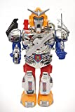 #4: TanMan Robot Walking Warrior Toy With Light And Sound & Revolving Function ( multi color )
