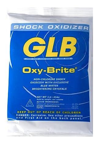 GLB piscine et spa produits 714140,5kilogram Oxy-brite Choc de l'eau de la piscine