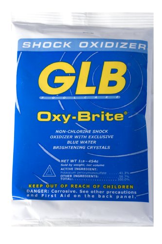 GLB Pool and Spa Products 71414 1-Pound Oxy-Brite Pool Water Shock - Oxy-pool
