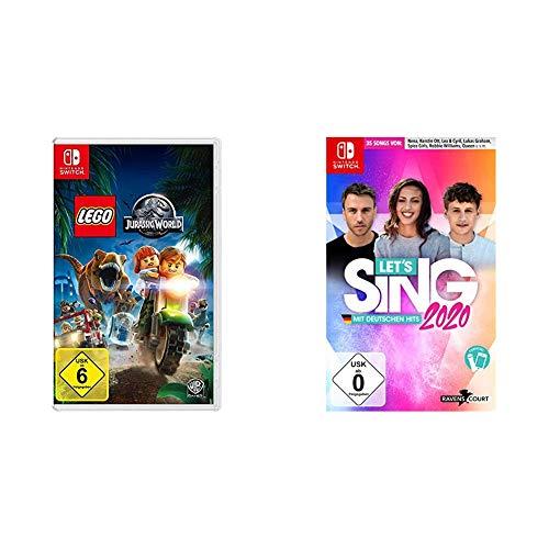 LEGO Jurassic World  - [Nintendo Switch] & Let's Sing 2020 mit deutschen Hits [Nintendo Switch]