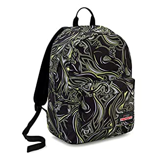 51s%2BVQc%2BafL. SS324  - Seven Ischoolpack Seven Wildy Boy Mochila Tipo Casual 44 Centimeters 27 Verde