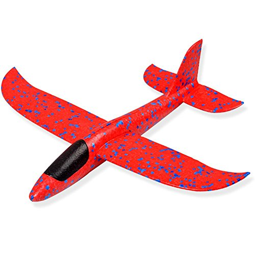 Kapokilly Camouflage Bubble Model Airplane Foam Throwing Glider ungefähr 48 48 12cm