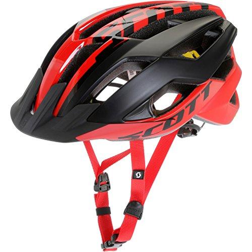 Scott Arx MTB Plus Fahrrad Helm rot/schwarz 2019: Größe: L (59-61cm)