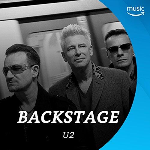 Backstage mit U2