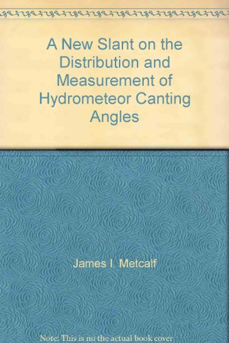 A New Slant on the Distribution and Measurement of Hydrometeor Canting Angles
