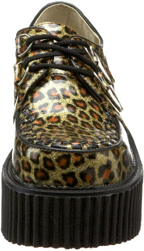 Demonia , chaussures classiques femme gold