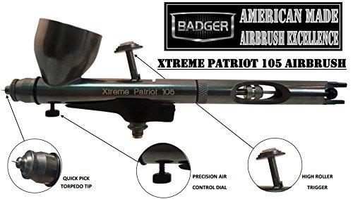 Badger 105 Patriot Extreme Airbrush Pistole (Badger Airbrush)