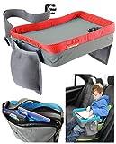 Creative 7 Kinder Play Tray Spiel und Esstisch Knietablett Rot