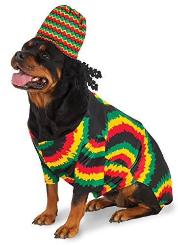 Rubie's Rasta Big Dog Boutique, 3X, Mehrfarbig
