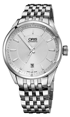 Oris Artix Date Automatic Stainless Steel Mens Watch Silver Dial Date 733-7713-4031-MB