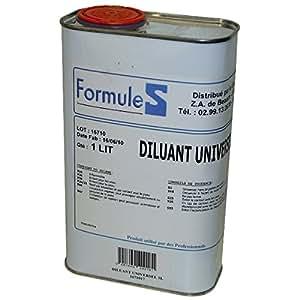 Diluant universel 1 litre pour laque antirouille