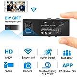 XuBa Mini WiFi HD 1080P Wireless Security Nanny Cam für iPhone/Mac/Android/Fenster Remote View mit Bewegungserkennung