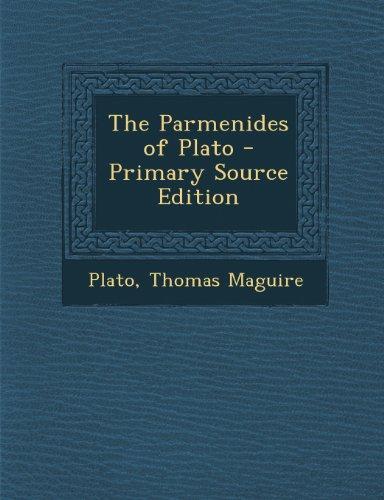 The Parmenides of Plato