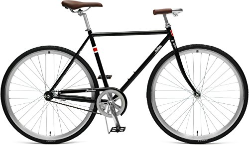 Critical Cycles Herren Parker City Bike mit Coaster Brakee Bicycle, Black, M
