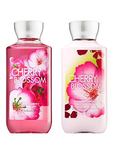 Bath & Body Works Cherry Blossom - Duschgel & Körperlotion Set -
