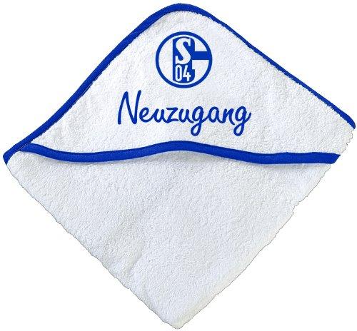 FC Schalke 04 Babybadetuch Neuzugang