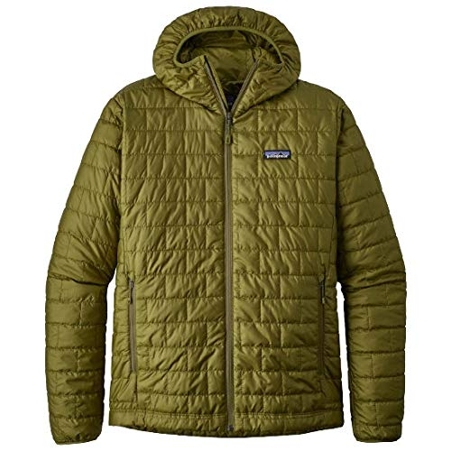 Patagonia Herren M's Nano Puff Hoody Jacket, Weide-Kräuter-Grün, XL - Kraut Puffs