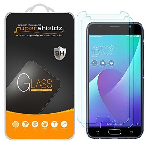 [2er Pack] Supershieldz für ASUS ZenFone V (Verizon) gehärtetem Glas Displayschutzfolie, Kratzfest, blasenfrei, lebenslange Umtausch-Garantie Verizon Pack