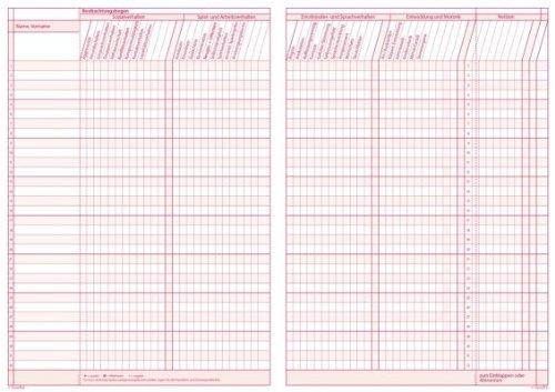 TimeTex Grundschul-Planer A4-Plus Bordeaux - Schuljahr 2017 - 2018 - Terminplaner für die Grundschule - Lehrerkalender - Schulplaner - 10716 -