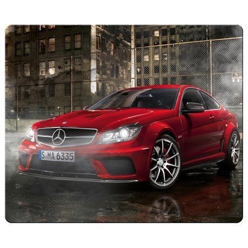 26x 21cm/25,4x 20,3cm Mauspad Präzise Tuch und Soft Gummi Mauspad wasserabweisend Mercedes Benz Car Logo Super