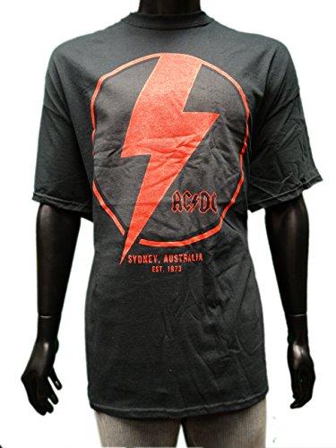 AC/DC-Skin ufficiale-Maglietta da donna, modello SYDNEY, varie misure nero nero S
