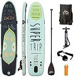 AQUA MARINA, SUPER TRIP+CARBON-Paddle, Paddle Board, SUP, 330x75x15 cm