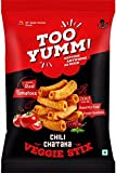 #10: TooYumm! Veggie Stix, Chilly Chataka, 60g, Pack of 10