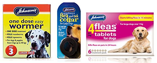 Pet Connection Flea, Tick & Worming Kit (Size 1: Small Dog (0-6kg)) 3