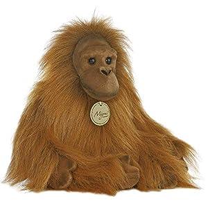 "Aurora World 10854 Miyoni Orangutan - Figura Decorativa (11""), Color Naranja"