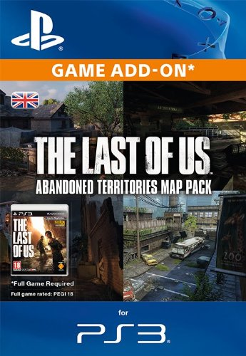 The Last Of Us Abandoned Territories Map Pack PS Download Code - Last of us map pack