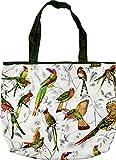 Faltshopper 50x35x12cm Tasche Einkaufstasche Falttasche (Vögel)