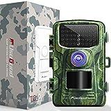 usogood Wildkamera Fotofalle 14MP 1080P Wildkamera mit Nachtsicht Bewegungsmelder Wasserdicht Outdoor Überwachungskamera mit 2.4' LCD Display für Natur, Garten, Haussicherheitsüberwachung
