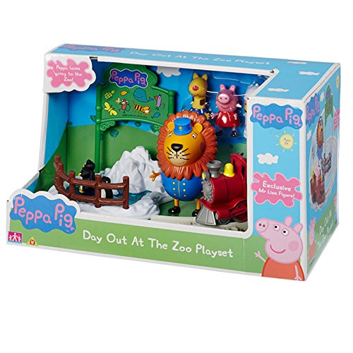 Peppa Pig Day Out allo Zoo Playset