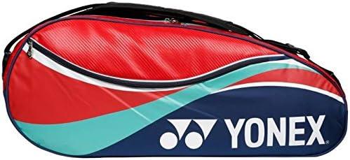 Yonex Badminton Kit Bag (Red and Navy Blue)