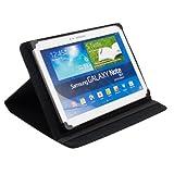 Bookstyle Tablet PC Schwarz Tasche Etui Hülle Case für