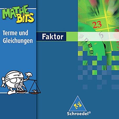 Preisvergleich Produktbild Faktor Lernsoftware MatheBits: Terme und Gleichungen 7. - 9. Schuljahr