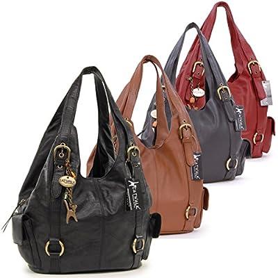 CATWALK COLLECTION - ALEX - Bolso de hombro - Cuero - Grande de Catwalk Collection Handbags