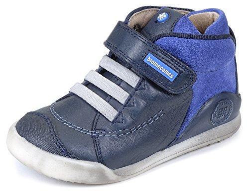 Biomecanics 161163, Bottes unisexe Bleu - Azul Marino / Azul Electrico (Sauvage / Serraje)