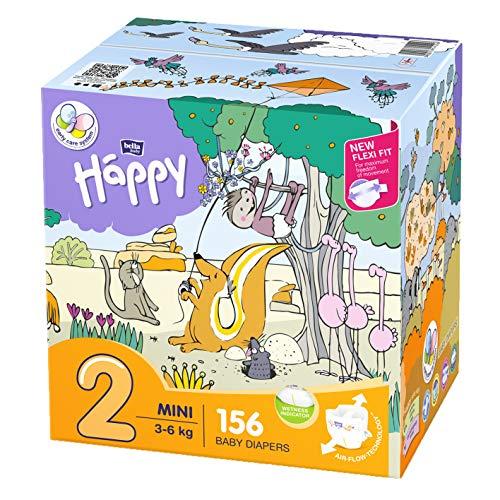18 kg 88 pezzi 4 X 22 pezzi confezione da 4 Bella Baby Happy Pants misura 5 Junior 11