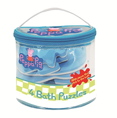 Peppa Pig - 4 in 1 Foam Bath Puzzles