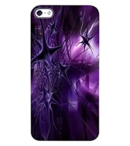 ColourCraft Abstract Image Design Back Case Cover for APPLE IPHONE 4S