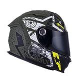 Suomy Motorradhelm SR Sport Shape, Mehrfarbig (Stars Military), S