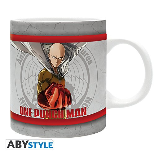 ABYstyle Studio One Punch Man-Taza Heroes 320ml