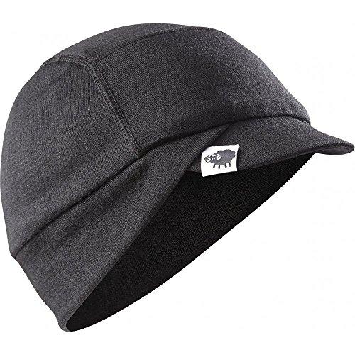2015 Madison Isoler Merino Wool winter cap, black small / medium Merino Winter Cap