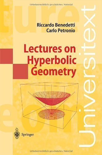 Lectures on Hyperbolic Geometry (Universitext) by Benedetti, Riccardo, Petronio, Carlo published by Springer (2003)