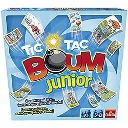 Goliath - Tic Tac Boum Junior, Juego de Cartas , Encuentra la Palabra (70508)