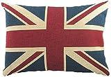 Evans Lichfield Union Jack Flagge in Großbritannien gefüllt Kissen 43,2x 33cm-43x 33cm